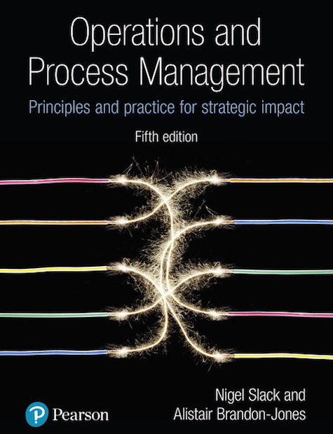 Operations and Process MAangement 5/e