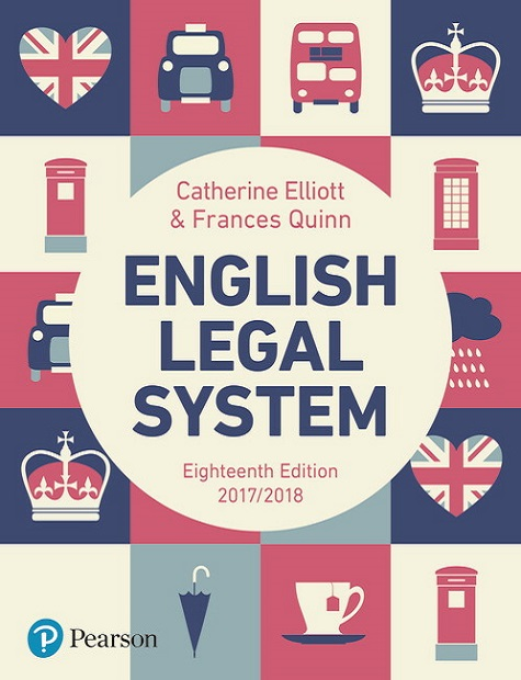 English Legal System, 18th Edition