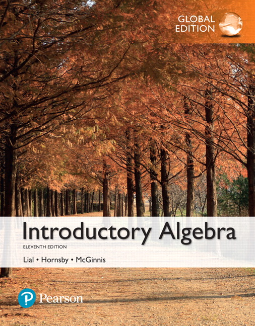 Introductory Algebra, Global Edition, 11/E