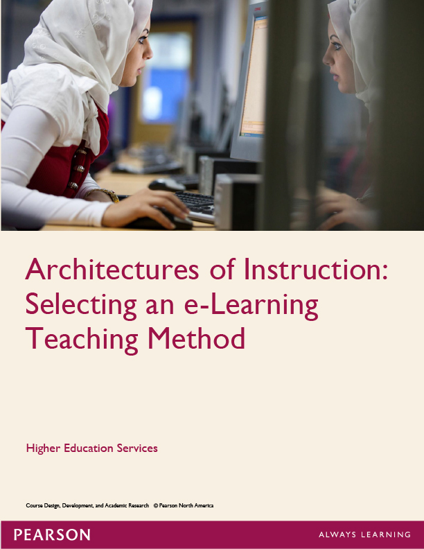 Architectures of instruction: Selecting an e-learning method cover image