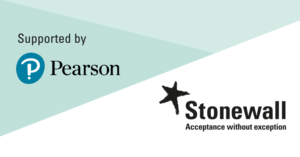 Supported by Pearson and Stonewall