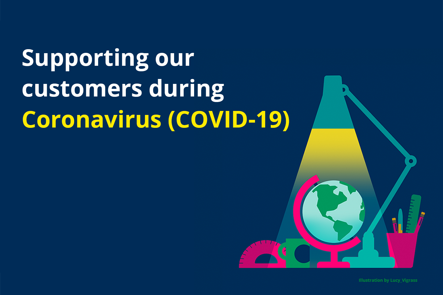 Supporting our customers during Coronavirus (COVID-19)