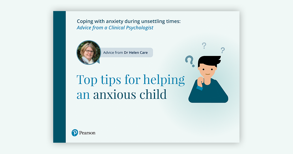 Top tips for helping an anxious child document link