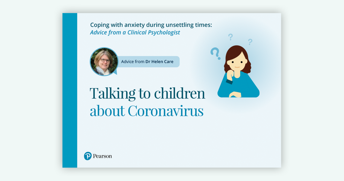 Talking to children about Coronavirus document link