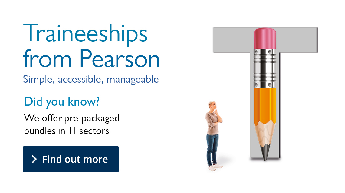 Link to Traineeships from Pearson