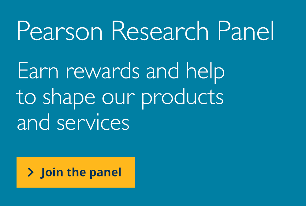 Earn rewards and help to shape our products and services. Join the Colleges and Work Based Learning Panel