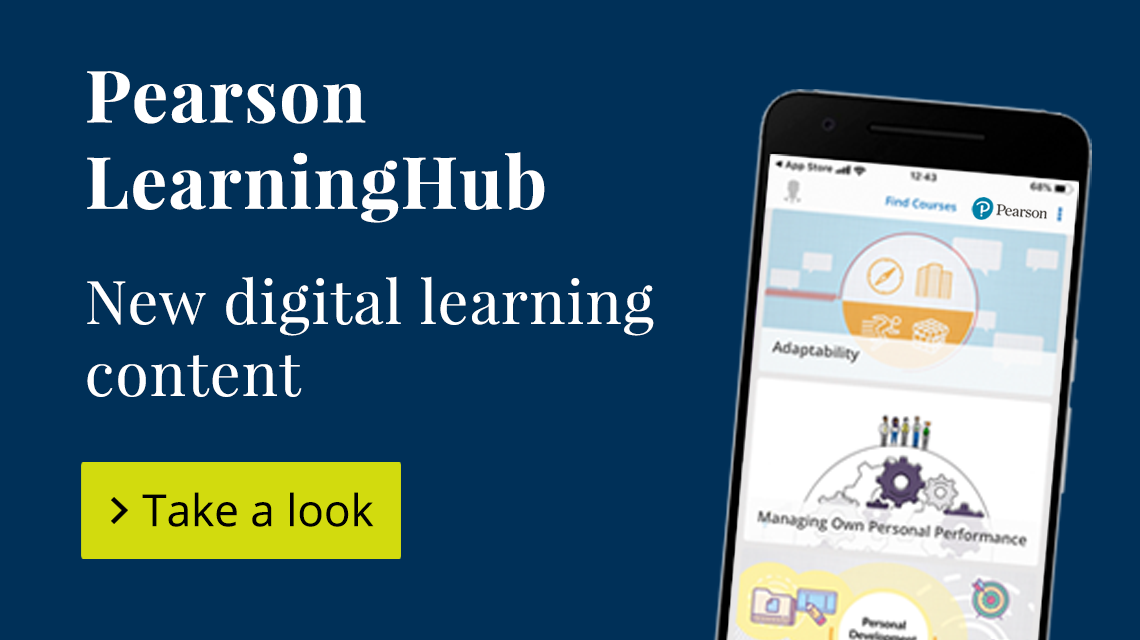 Pearson LearningHub, New digital learning content. Take a look.