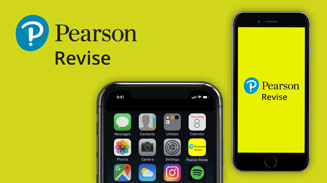Download the free Pearson Revise app