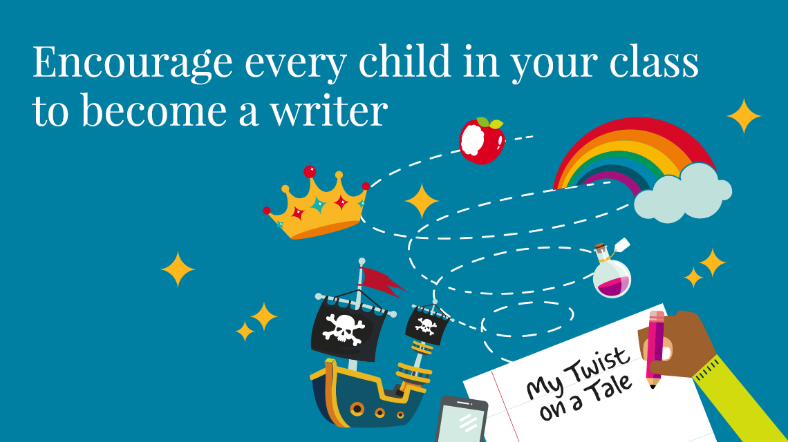 Encourage every child in your class to become a writer
