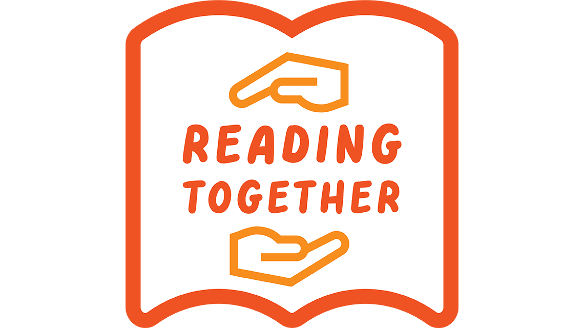 Reading together logo