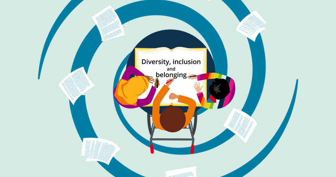 image and link to Plotting Ahead... Diversity, inclusion and belonging