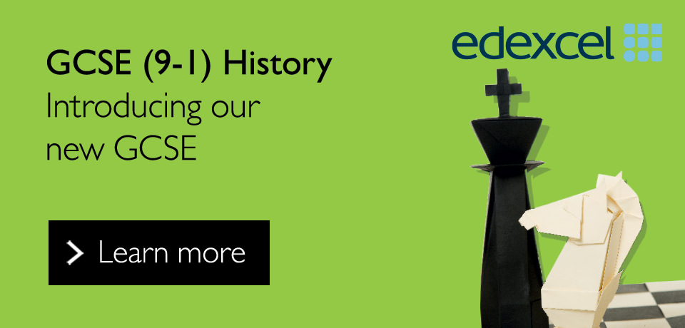 Link to our new Edexcel GCSE (9-1) History qualification