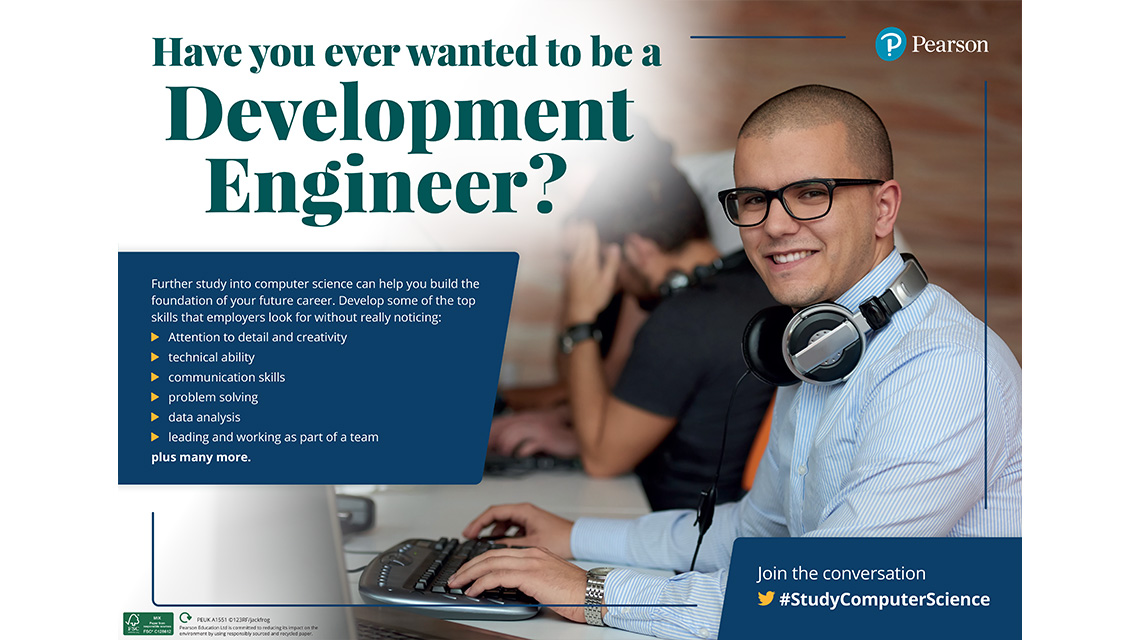 Development Engineer poster - male