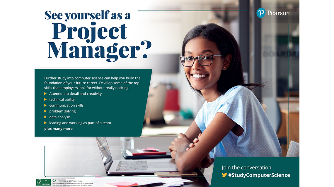 Project Manager poster - female