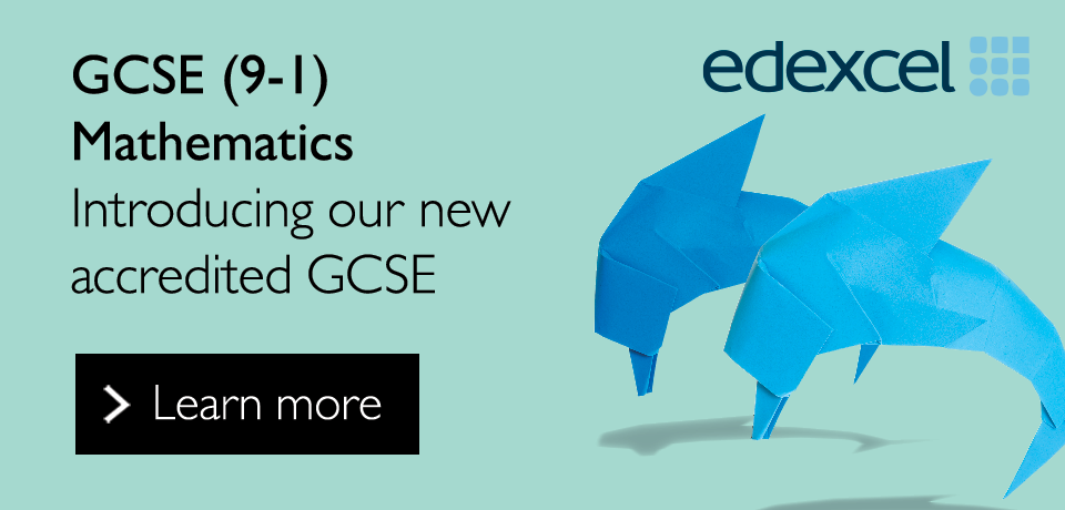 Link to our new Edexcel GCSE (9-1) Mathematics qualification