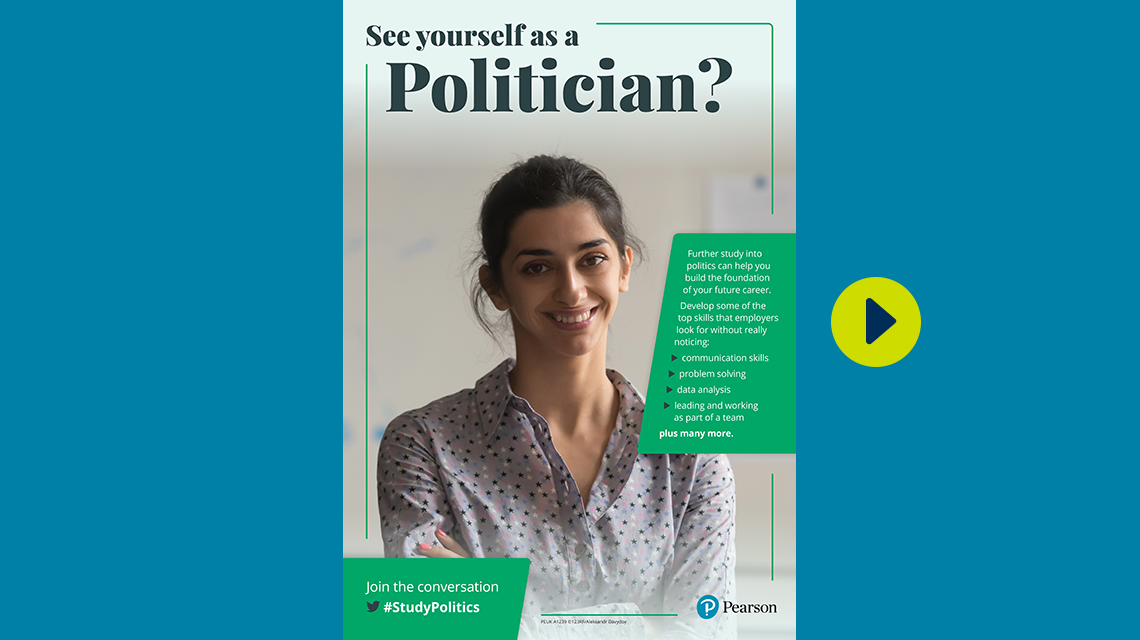 #StudyPolitics politician poster - female