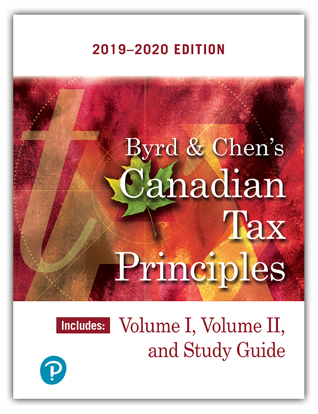 Byrd & Chen's Canadian Tax Principles 2019-2020