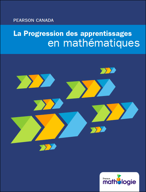Cover - Pearson Canada Mathematics Learning Progression
