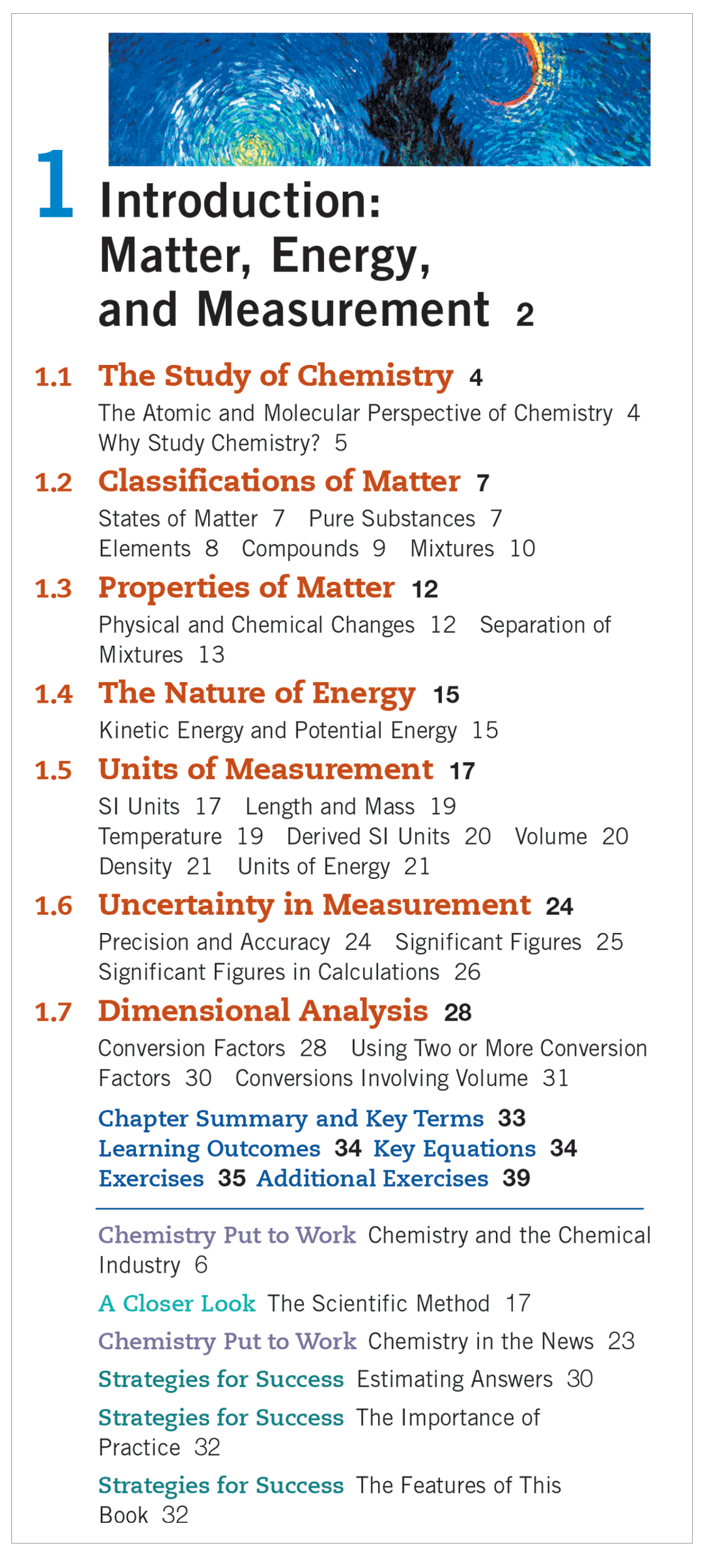 Updated Table of Contents