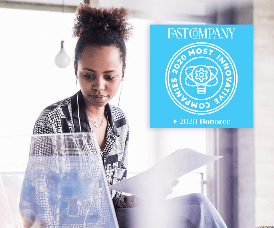 Pearson named one of the most innovative companies by Fast Company