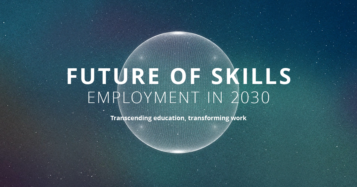 Future of Skills Employment in 2030