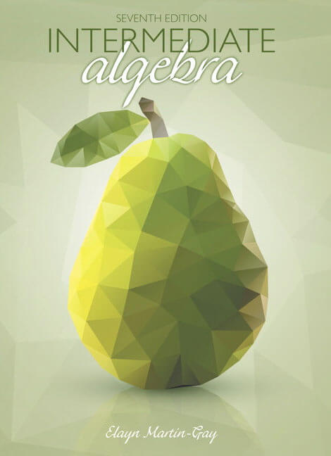 Intermediate Algebra Book Cover