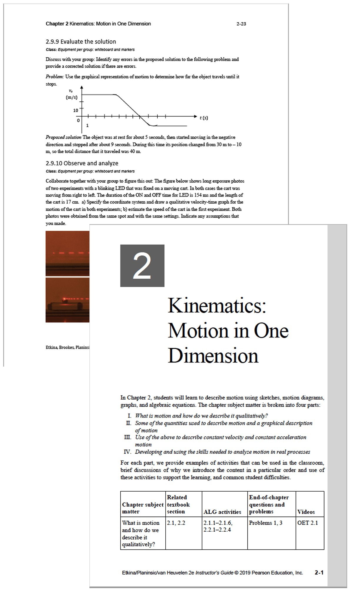 Etkina, Planinsic & Van Heuvelen, College Physics: Explore