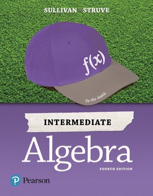 Intermediate Algebra 4th Edition Book Cover