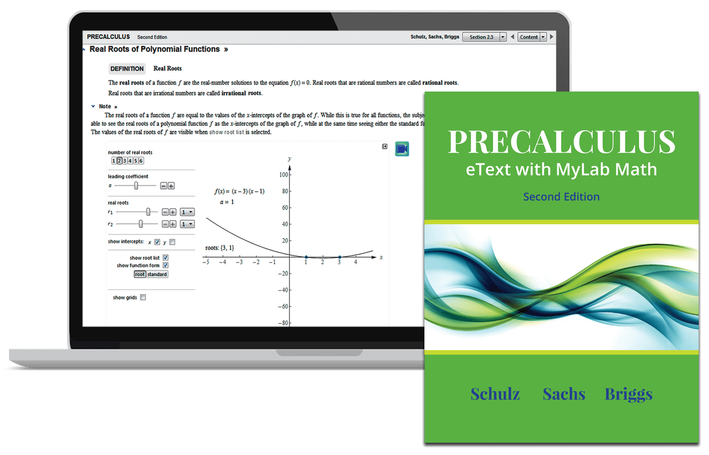 Schulz, Sachs & Briggs, Precalculus eText with MyLab Math and ...