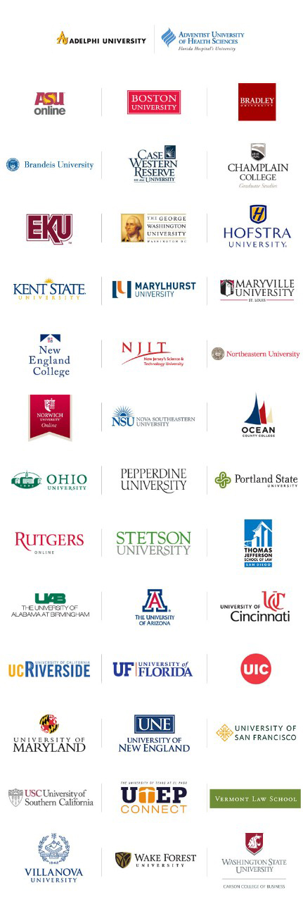 All Academic Partner Logos