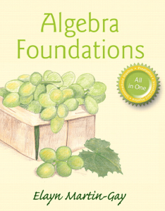 algebra-foundations-martin-gay-cover